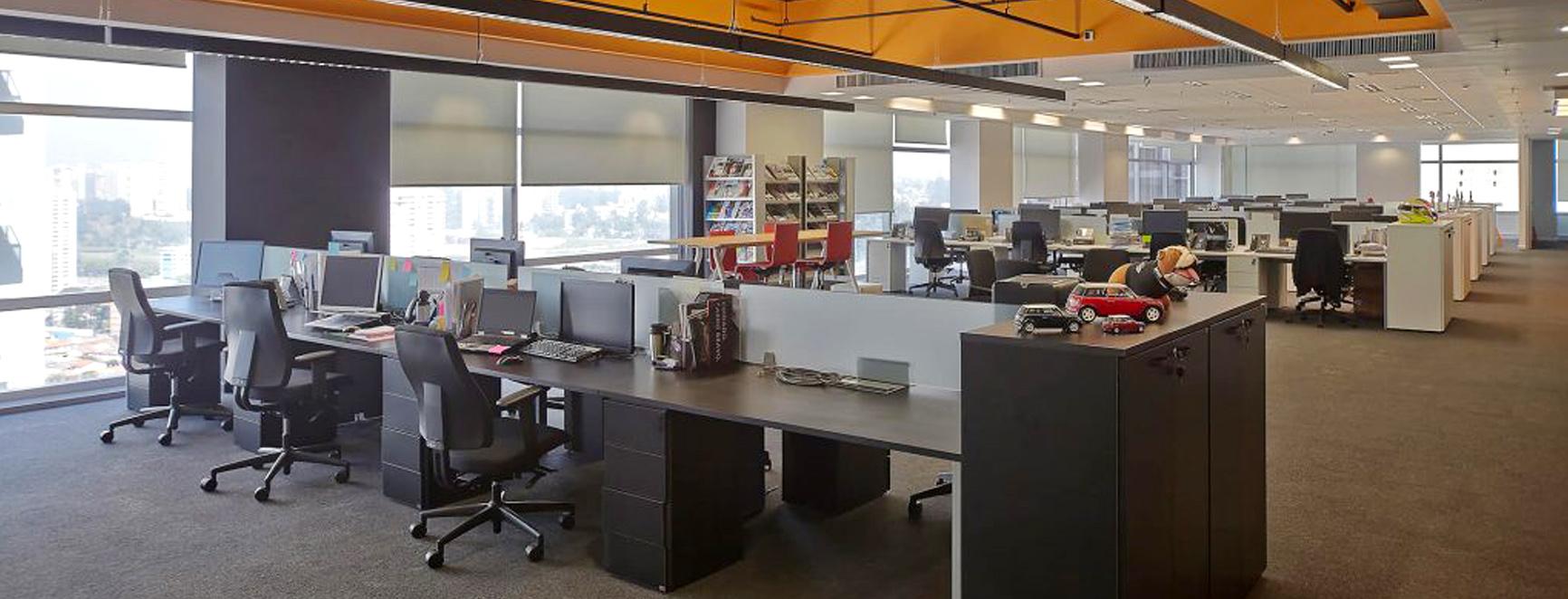 Obras turnkey para escritórios corporativos