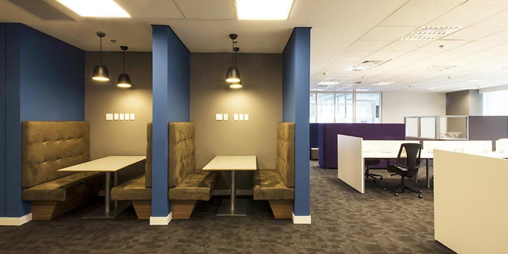 Arquitetura para escritórios corporativos