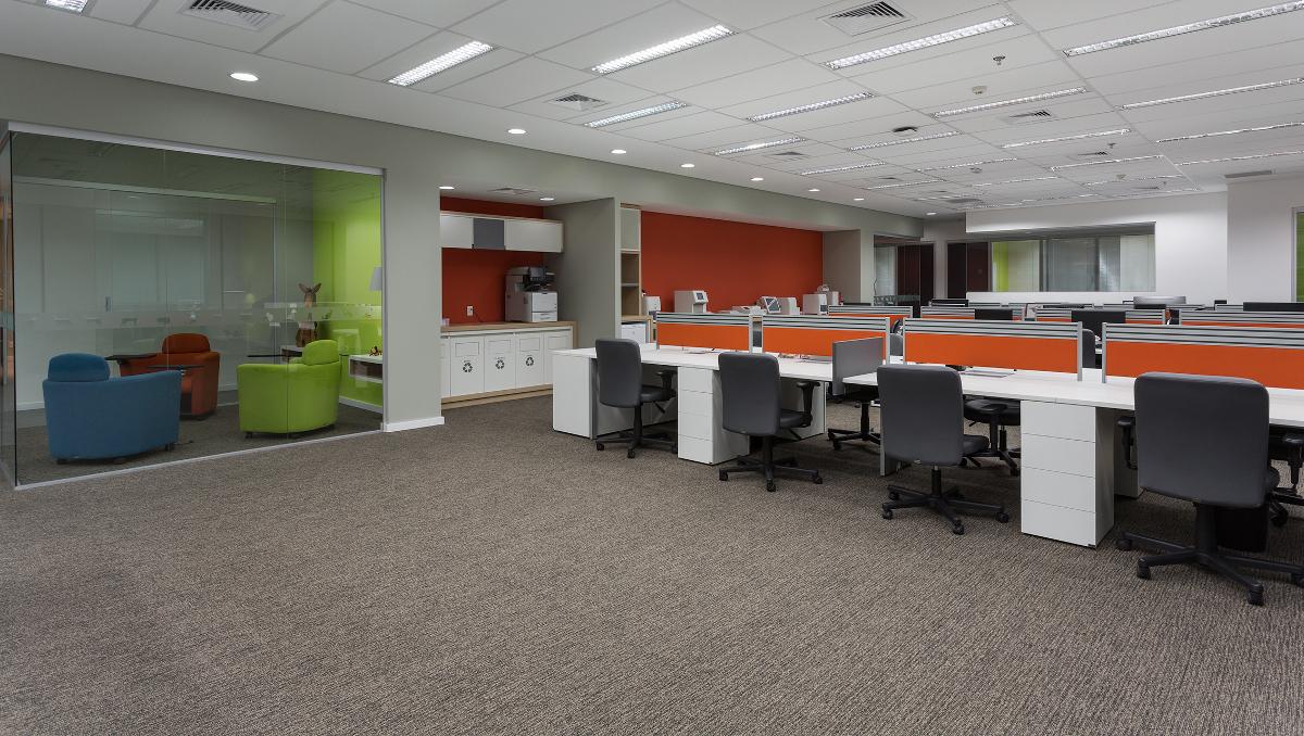 Gerenciadora de Obras e arquitetura de escritórios